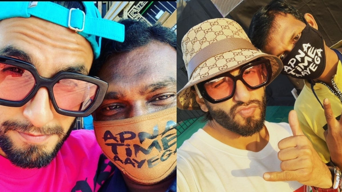 Ironic! Ranveer Singh wants 'Apna Time Aayega' face mask amid coronavirus outbreak