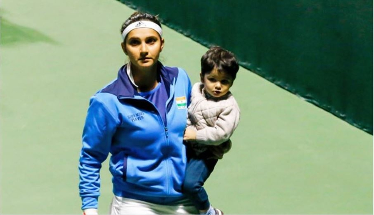 Izhaan inspires me to be the best I can be: Sania Mirza shares adorable pic with son; Twitter goes crazy