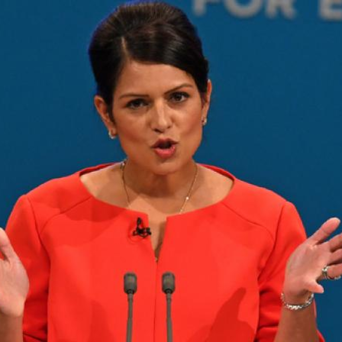 UK minister Priti Patel calls for crackdown on racist abuse in football