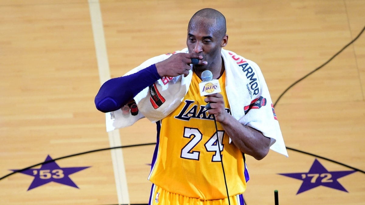 Kobe Bryant's farewell towel sold for more than USD 30k in online auction