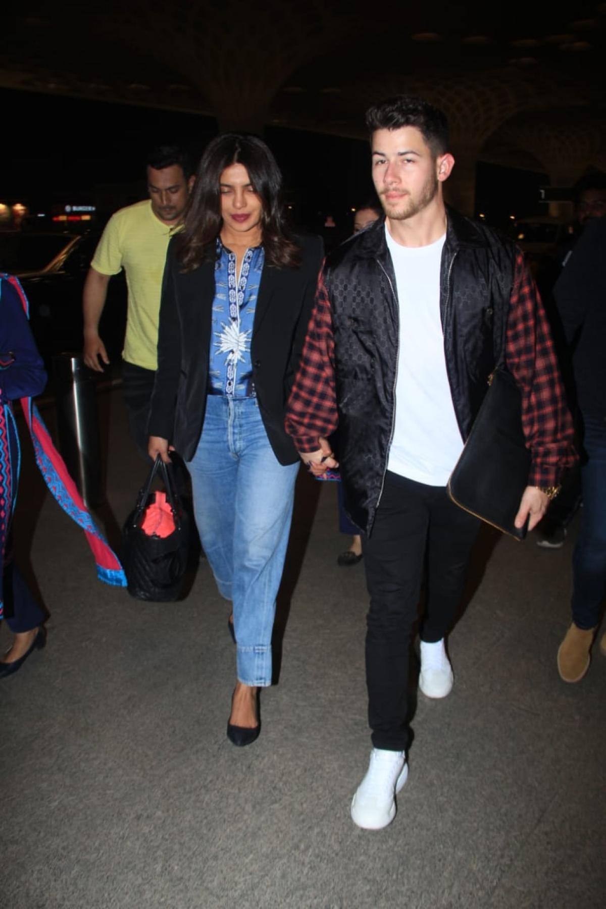 Watch: Inside video of Priyanka Chopra, Nick Jonas drinking 'bhang' at Holi party