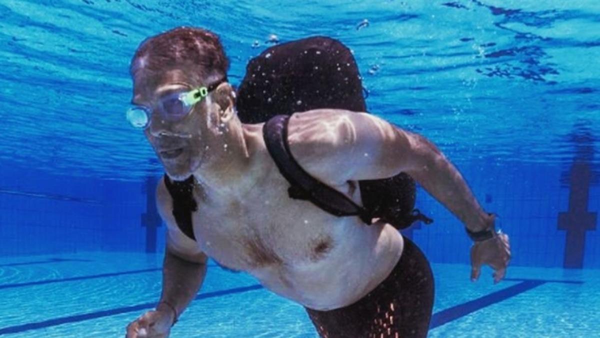 Sight of Milind Soman running underwater will lift you a bit during coronavirus quarantine