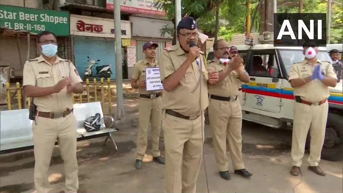 Watch: Pune Police sing to maintain social distance as city records first coronavirus death