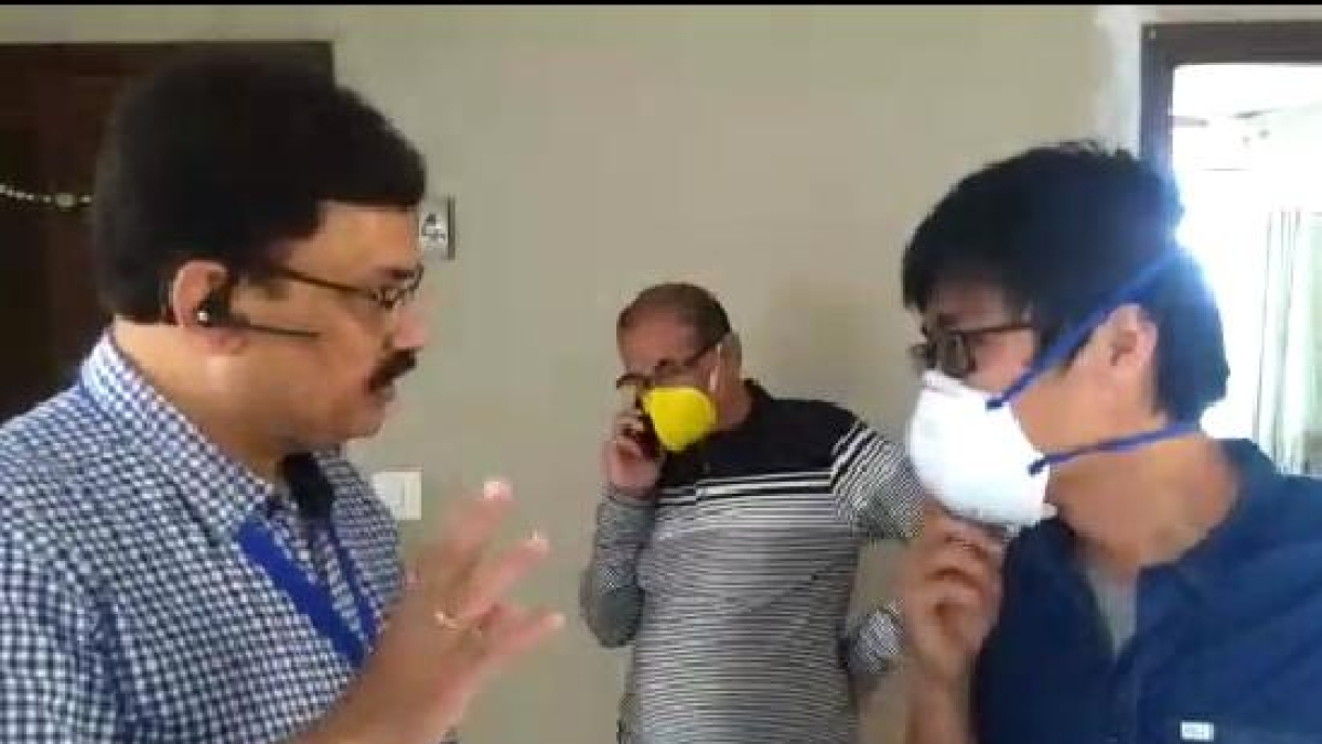 Indore: Chaos in township after seeing Chinese citizen amid coronavirus outbreak