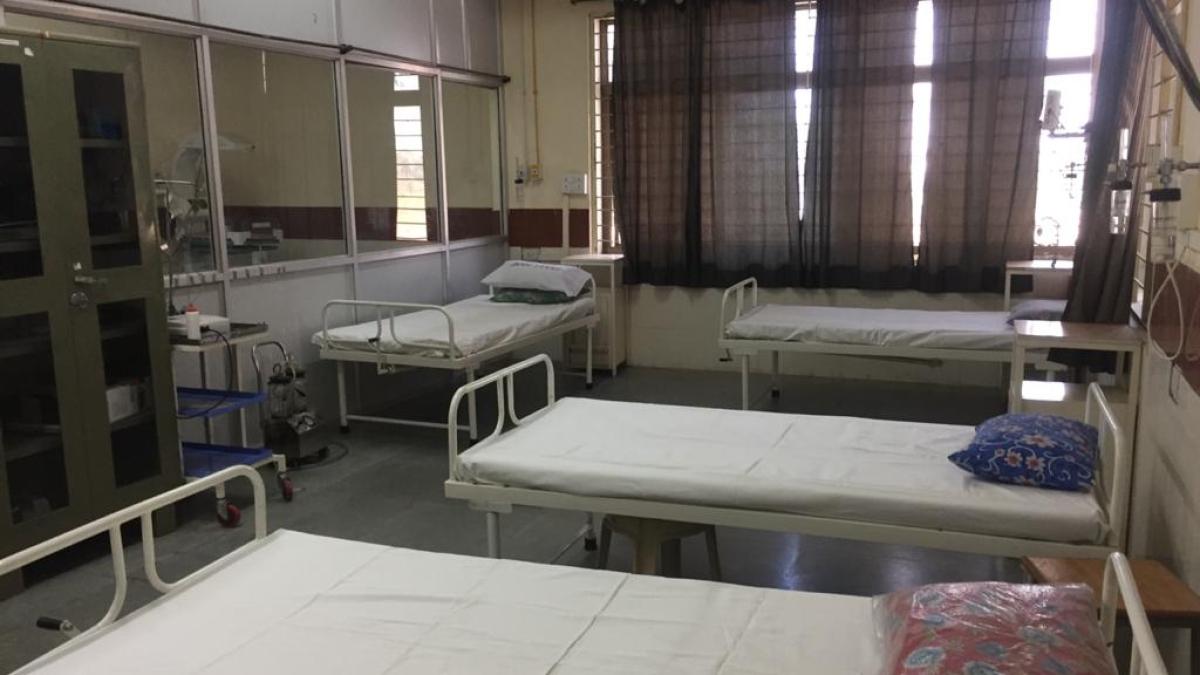 Quarantine centre in Jagadguru Dattatray College of Pharmacy in Simhasa (Representative Photo)