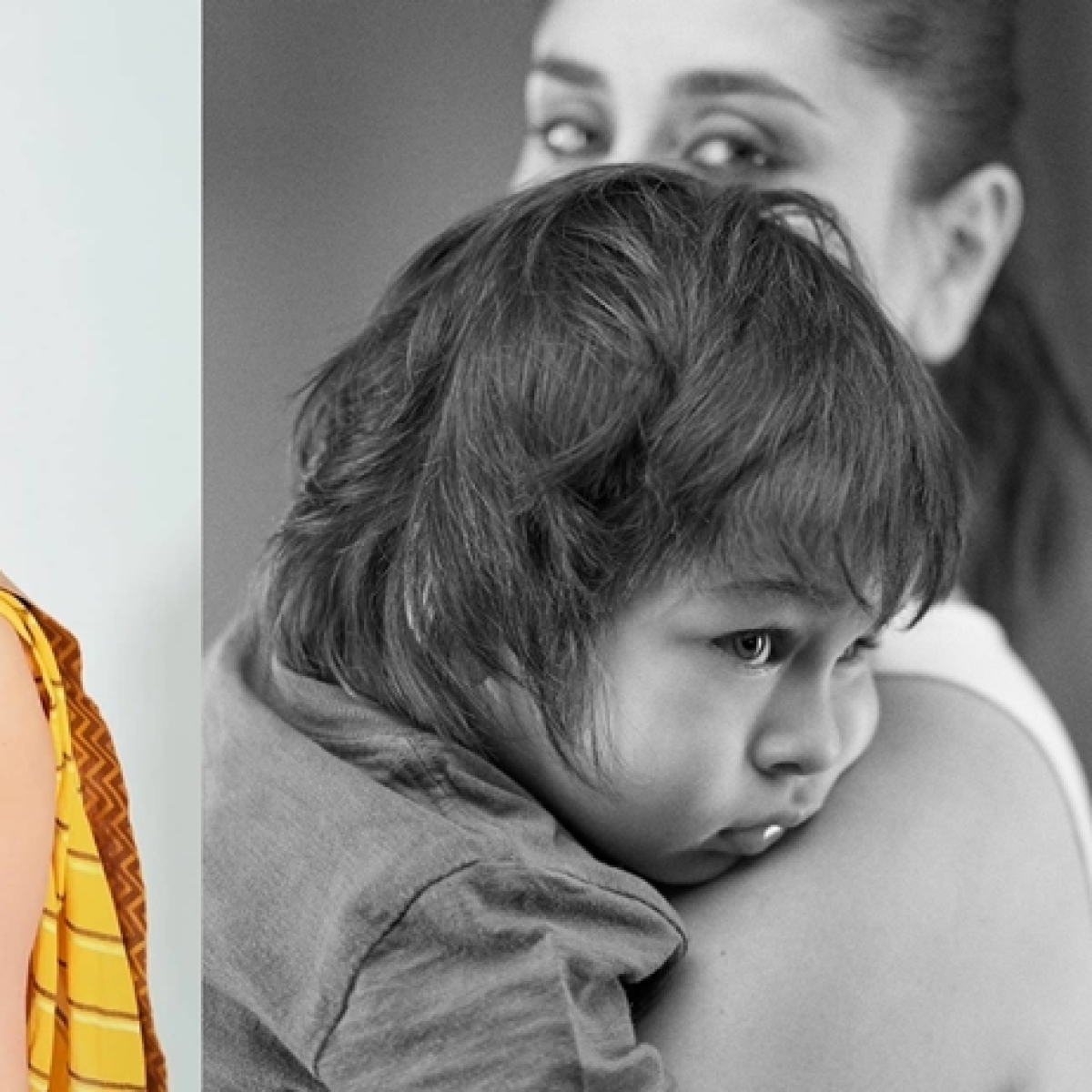 Kareena shares an adorable picture with Taimur, says 'the only one I will ever allow to steal my frame'