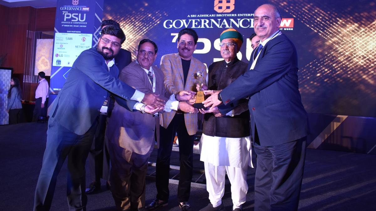 NBCC bags Digital PSU Award
