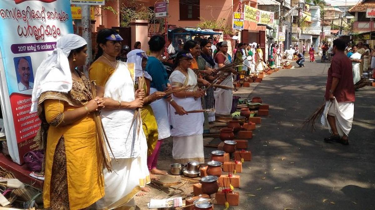 Latest Coronavirus news in India: Despite outbreak, biggest congregation of women takes place in Kerala temple
