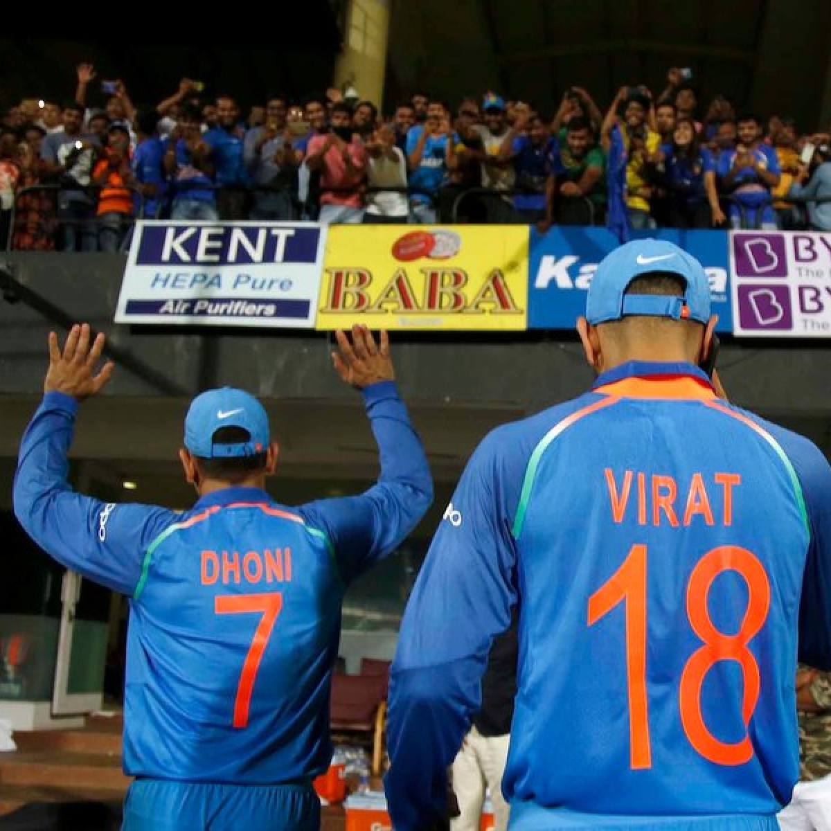 Virat was always in MS Dhoni's ears, with a '120 percent' intent on field