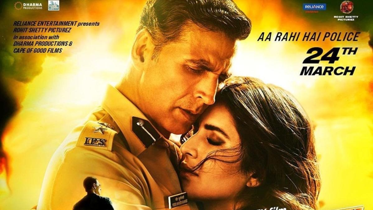 Katrina Kaif shares captivating new poster from Akshay Kumar's cop drama 'Sooryavanshi'