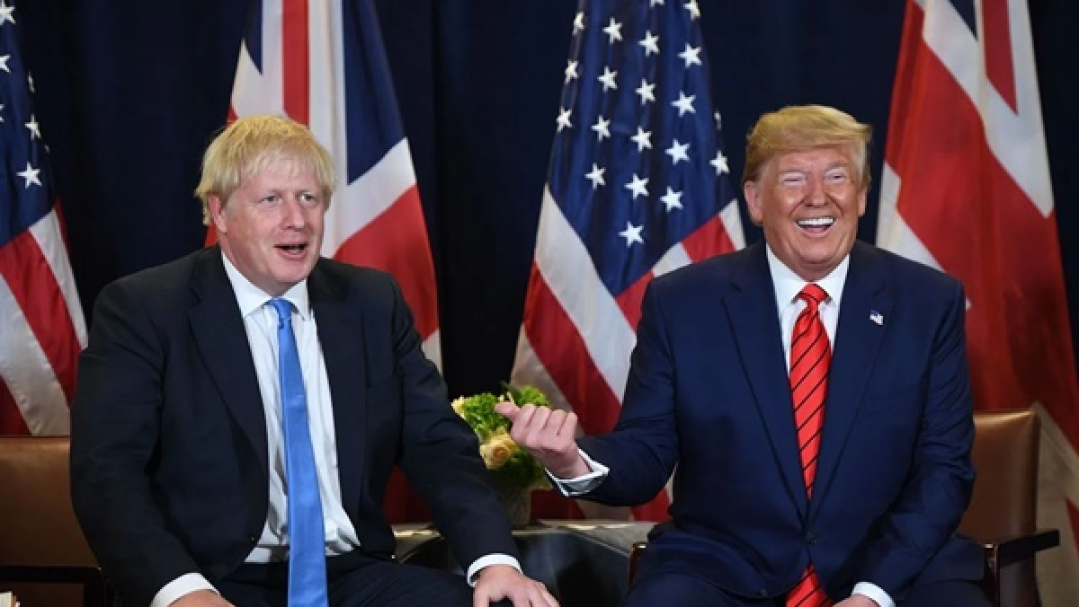 Donald Trump speaks with UK PM Johnson, wishes him speedy recovery