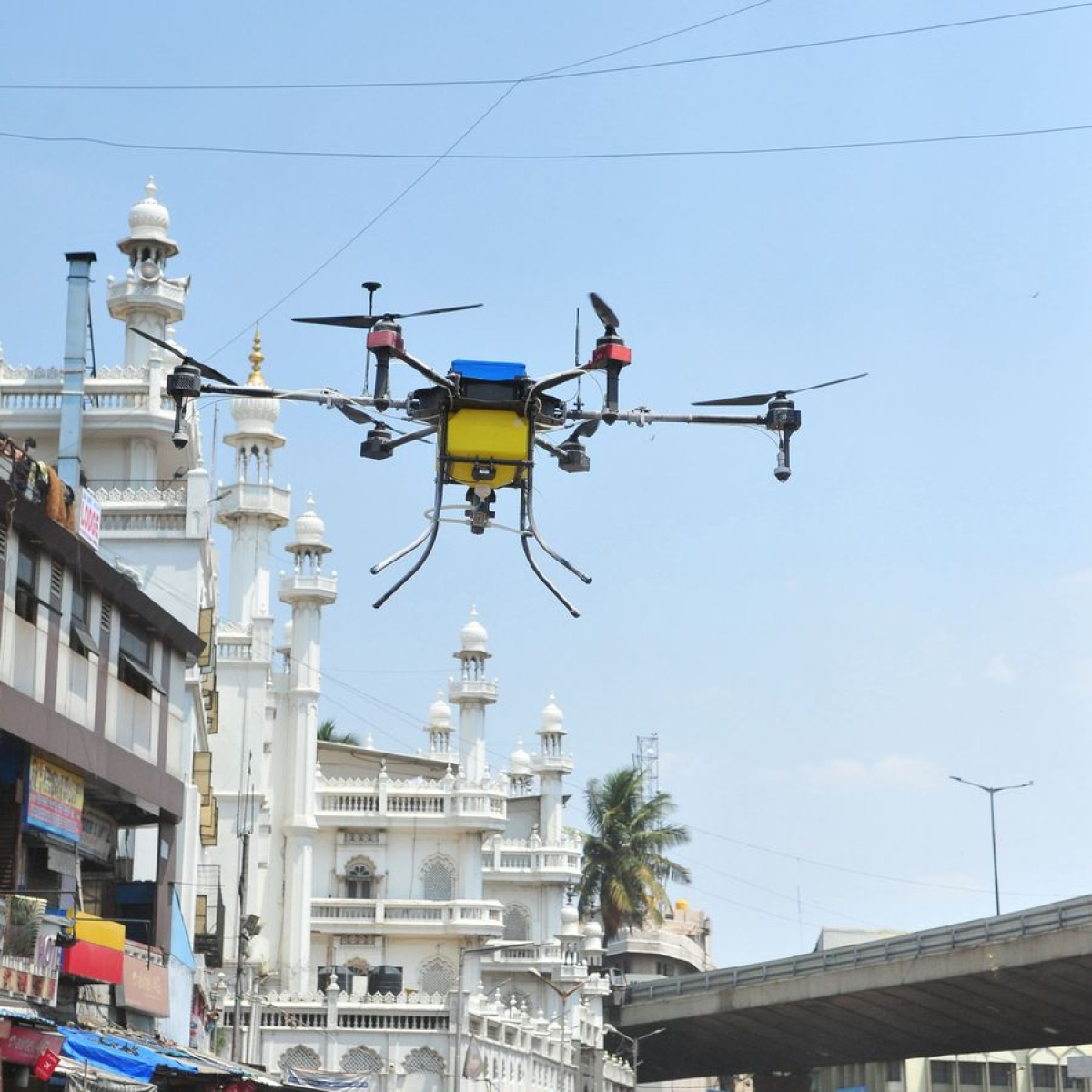 Drones to power fight against corona in Chhattisgarh, elsewhere