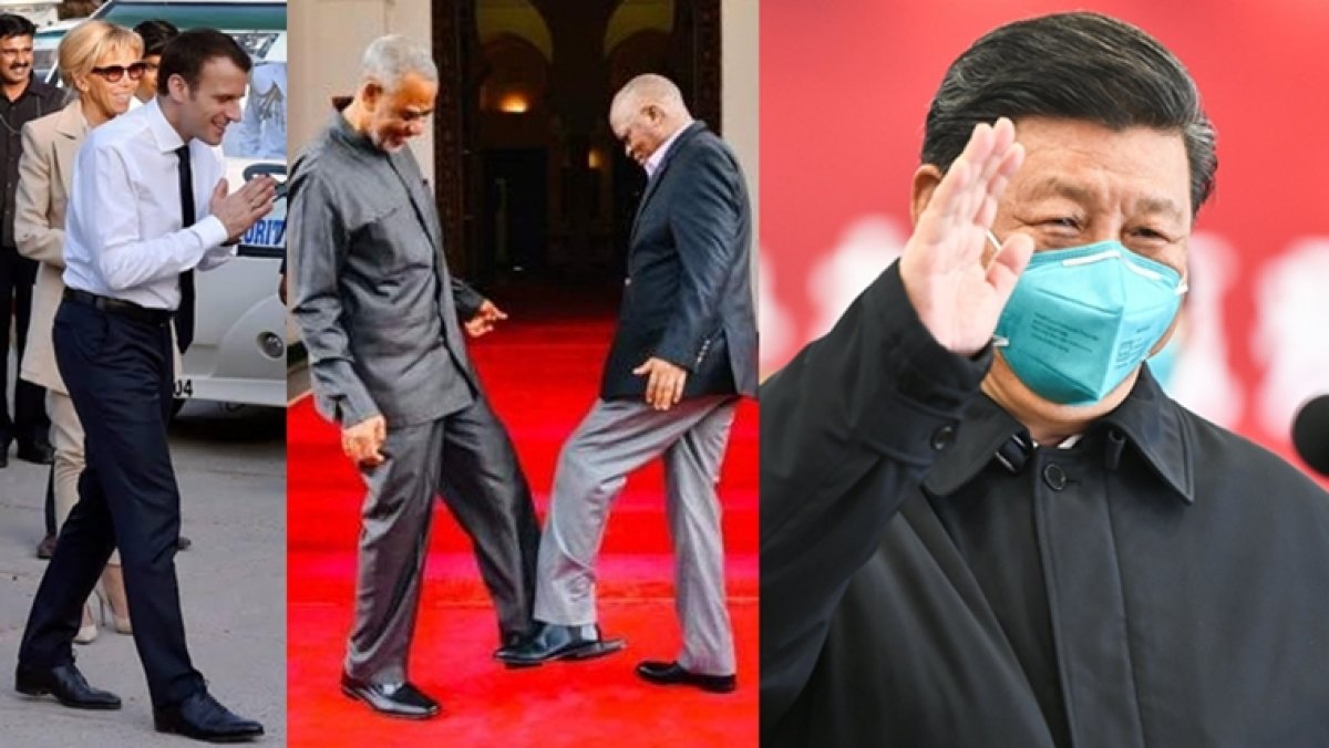 From namaste to foot shaking: Here are 5 alternatives to the handshake