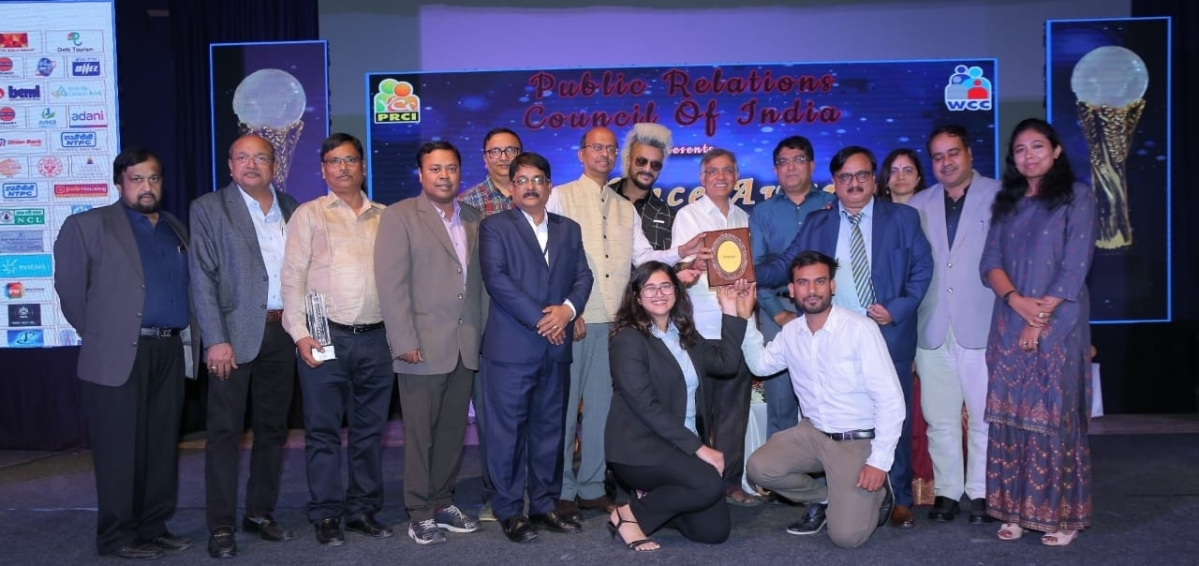 NTPC crowned 'Champion of Champions' at PRCI Conclave