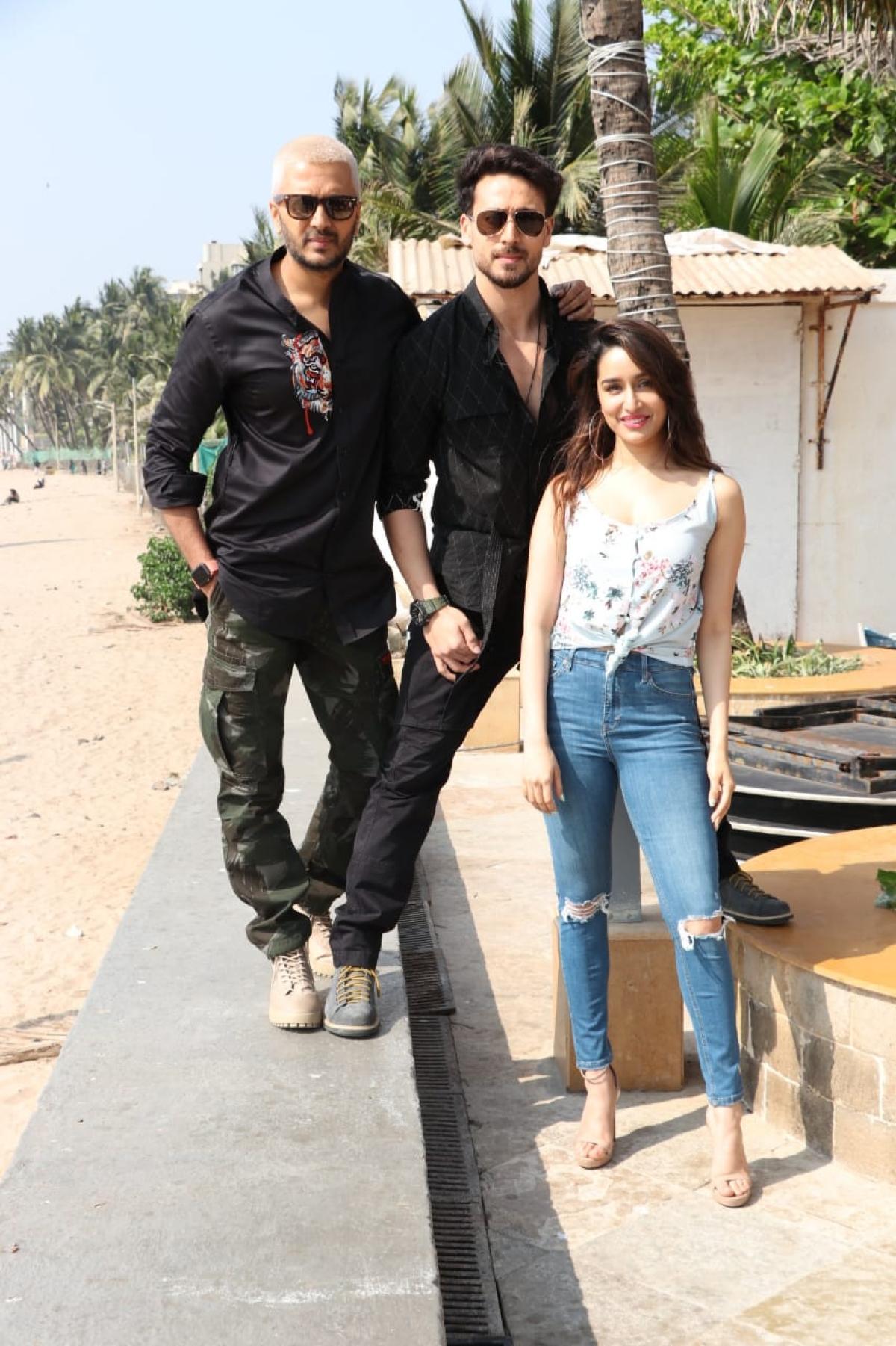 Baaghi 3' starcast - Tiger Shroff, Shraddha Kapoor and Riteish Deshmukh