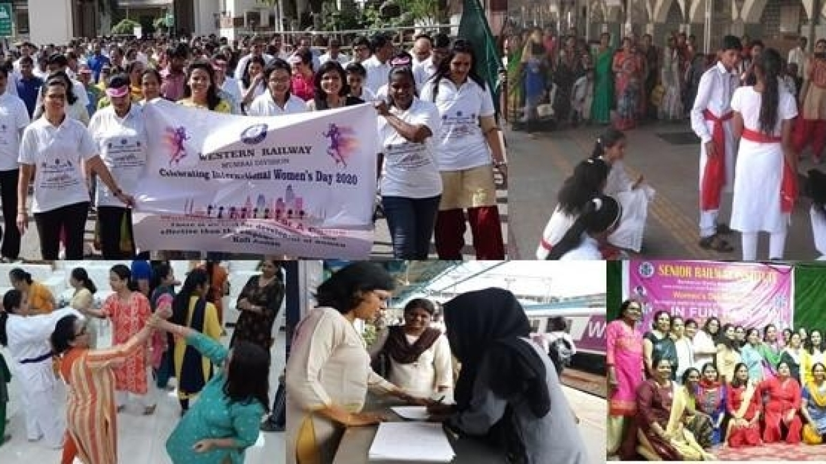 Western Railway commemorates International Women's Day with various special initiatives & events for women empowerment
