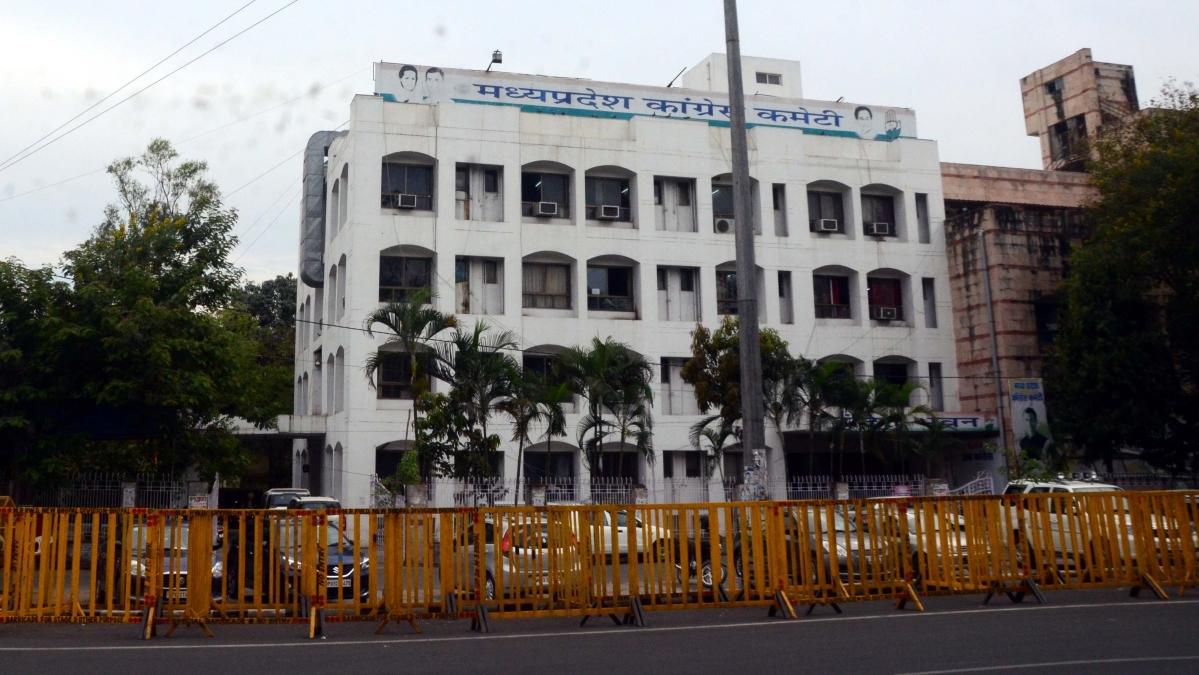Madhya Pradesh Congress Committee office