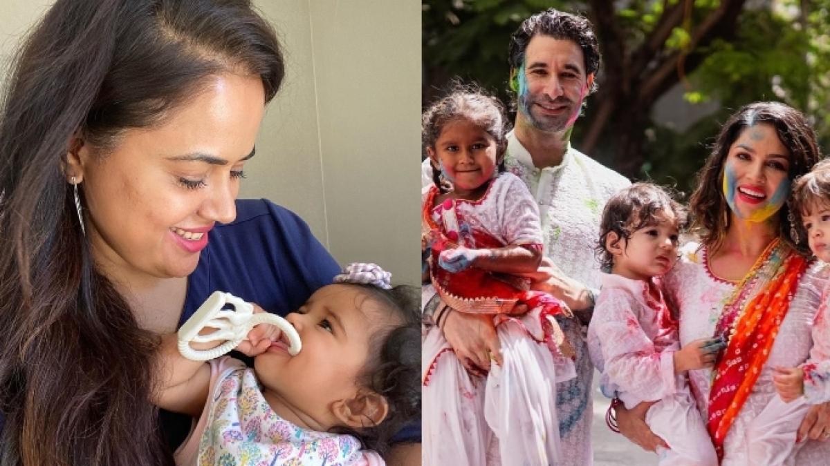 Bollywood-moms Raveena, Sameera, Sunny talk childcare amid coronavirus lockdown