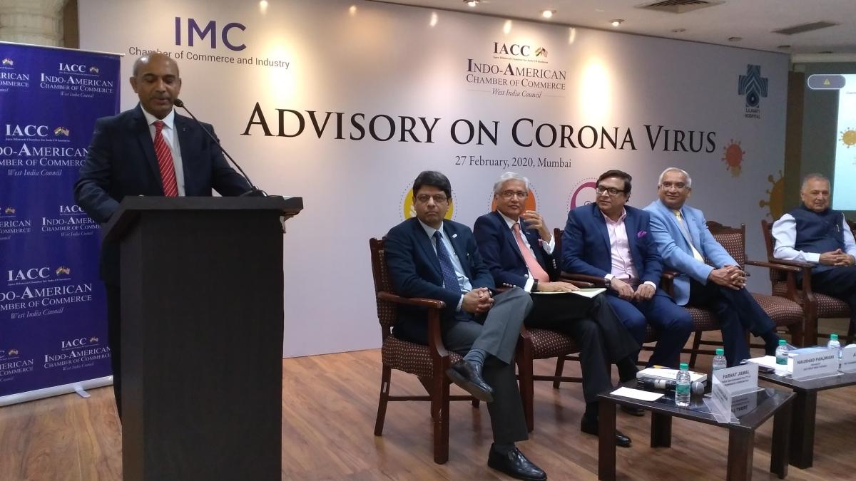 IMC, IACC, Lilavati Hospital organise seminar on awareness programme on Coronavirus