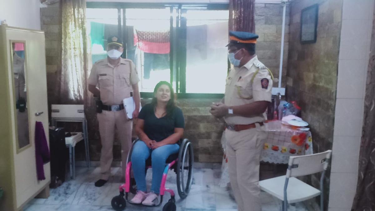 Coronavirus in Mumbai: How Mumbai cops helped a disabled woman during lockdown