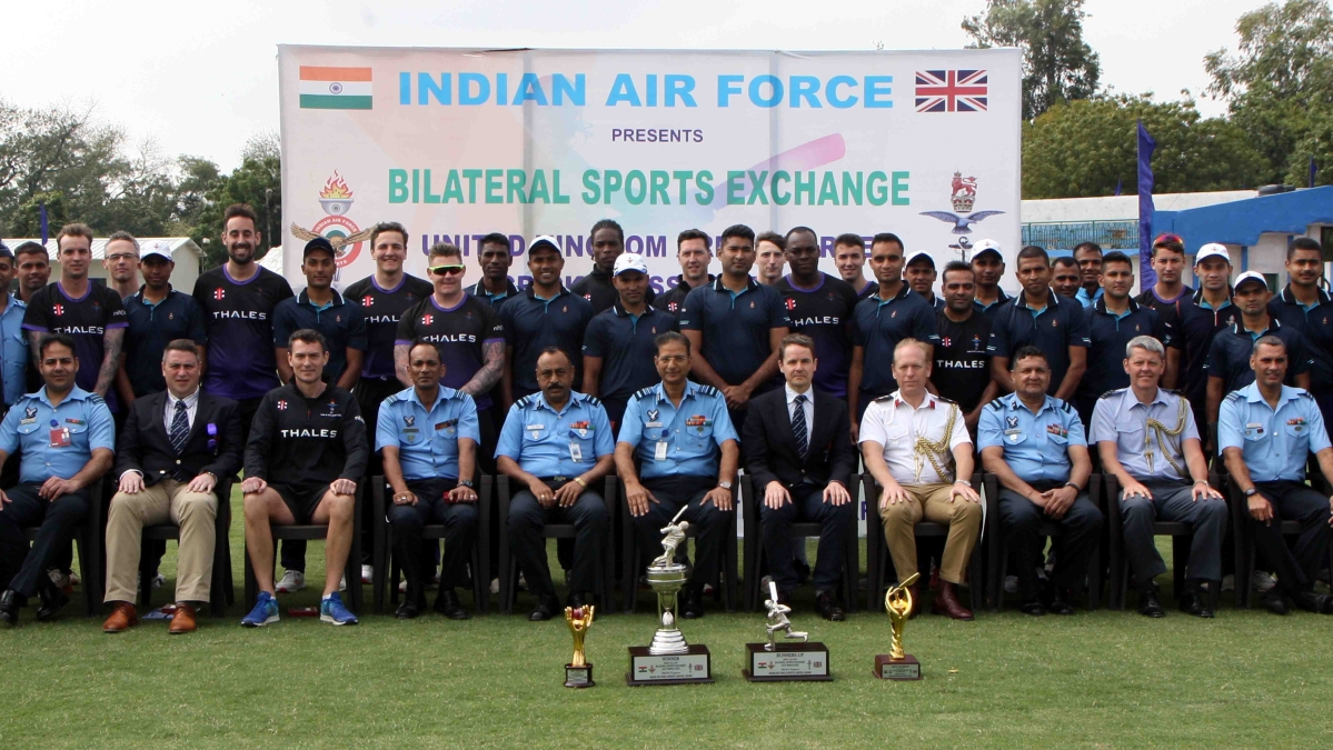 Bilateral Sports Exchange – Cricket matches between UKAFCA & IAF
