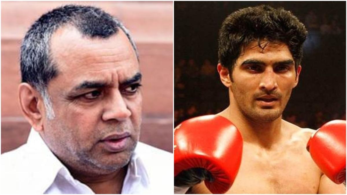 Delhi violence: Boxer Vijender Singh gets into Twitter altercation with Paresh Rawal