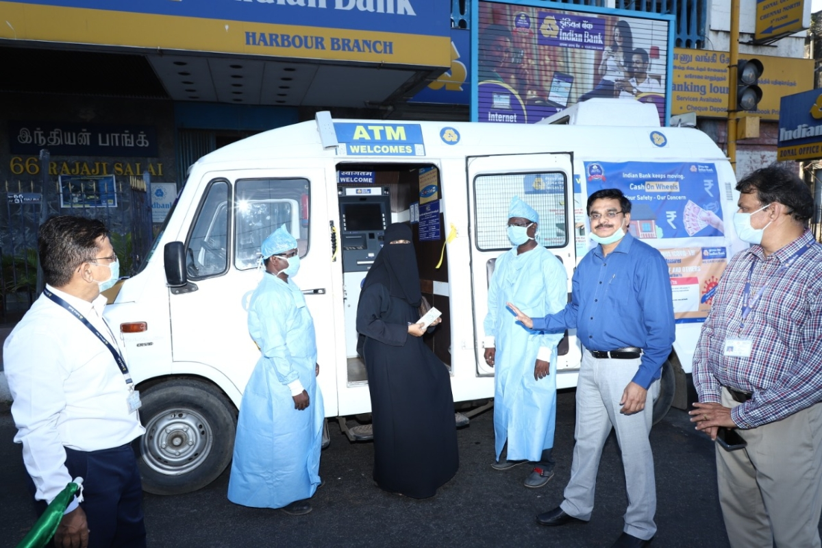 Indian Bank launches Mobile ATM service in Chennai