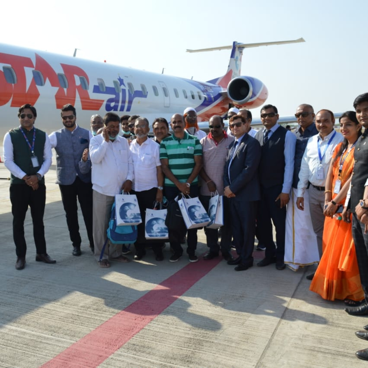 Indore: Flight to Kishangarh rolls out from the city