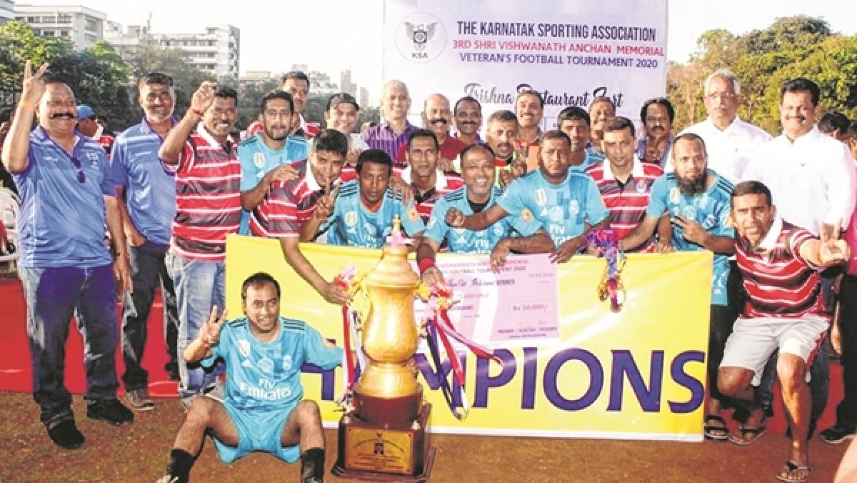 Vishwanath Anchan Memorial Veterans' football tournament