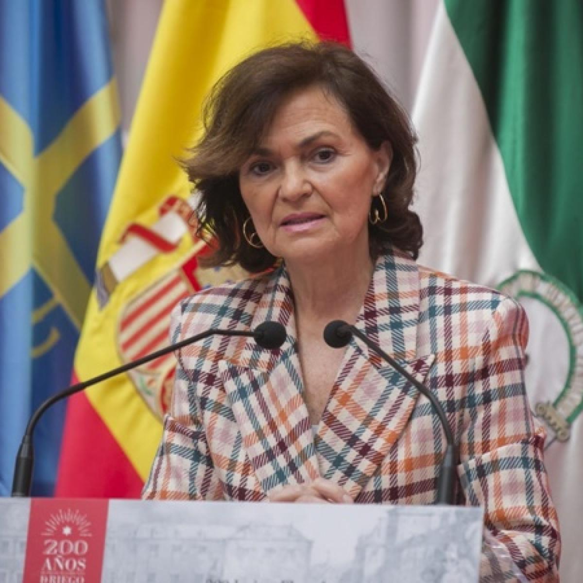 Coronavirus update: Spain's Deputy PM Carmen Calvo tests positive for virus