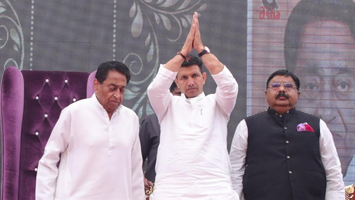 Kamal Nath and JItu Patwari