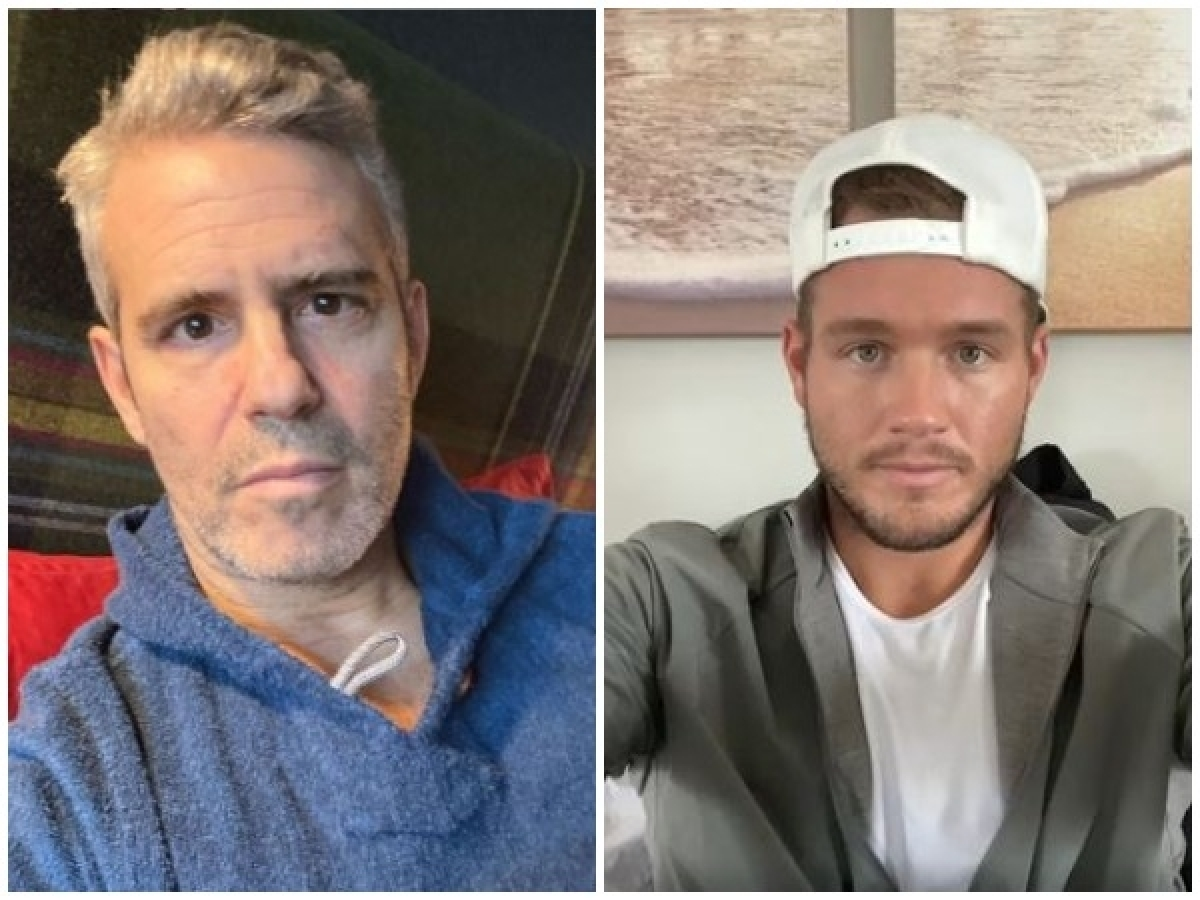 Andy Cohen, Colton Underwood