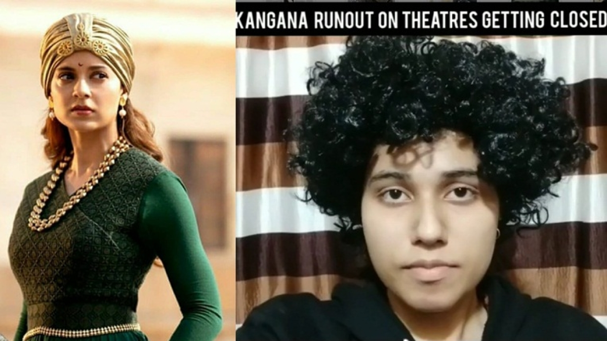'Meri to ungli karne ki aadat hai': Nazma Aapi's Kangana Ranaut has real problem with 'no-touch' during coronavirus
