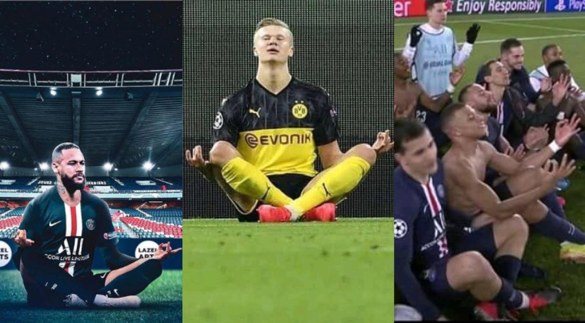 UEFA Champions League: Neymar, Mbappe brutally mock Haaland after PSG knock out Dortmund