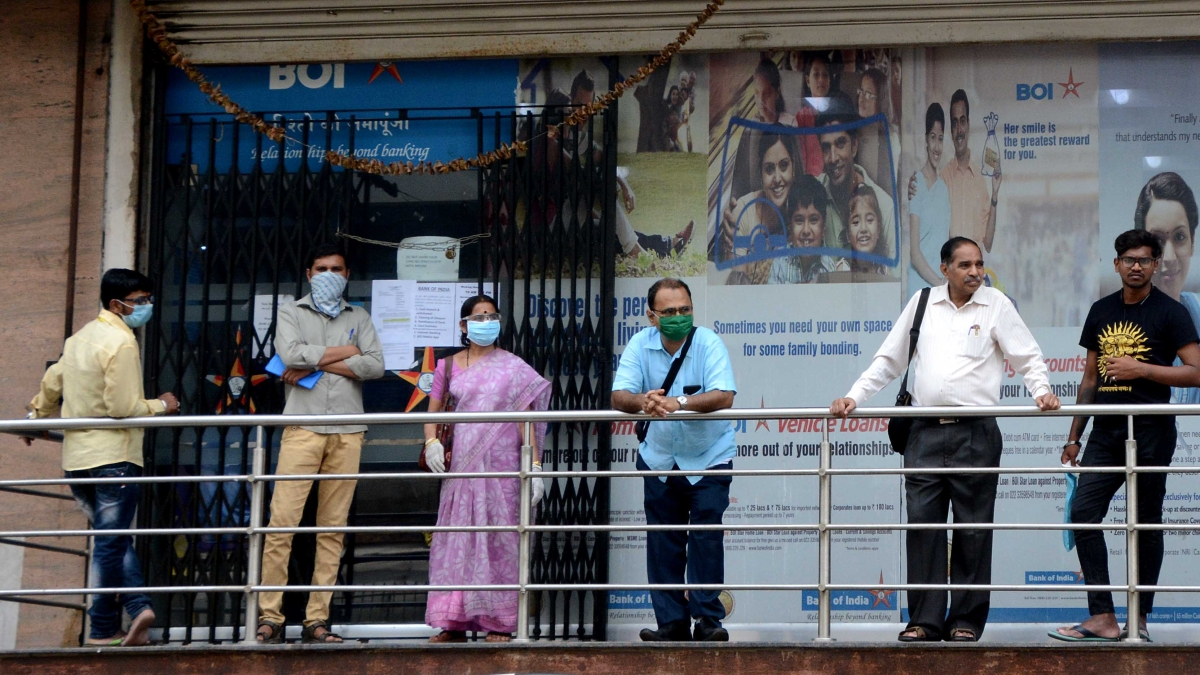 Coronavirus in India: Banks worry about senior citizens flocking to branches to collect pension