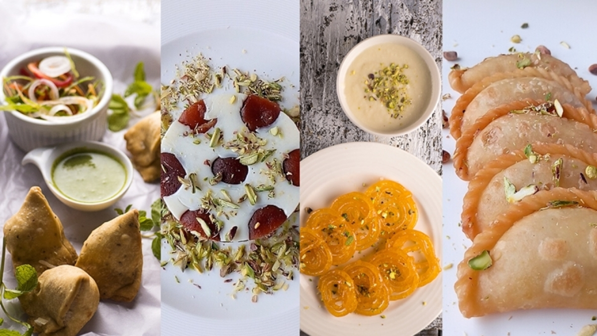 Holi 2020 Recipes: Gulab Jamun Mousse, Chilli Cheese Samosa, Gujiya and more