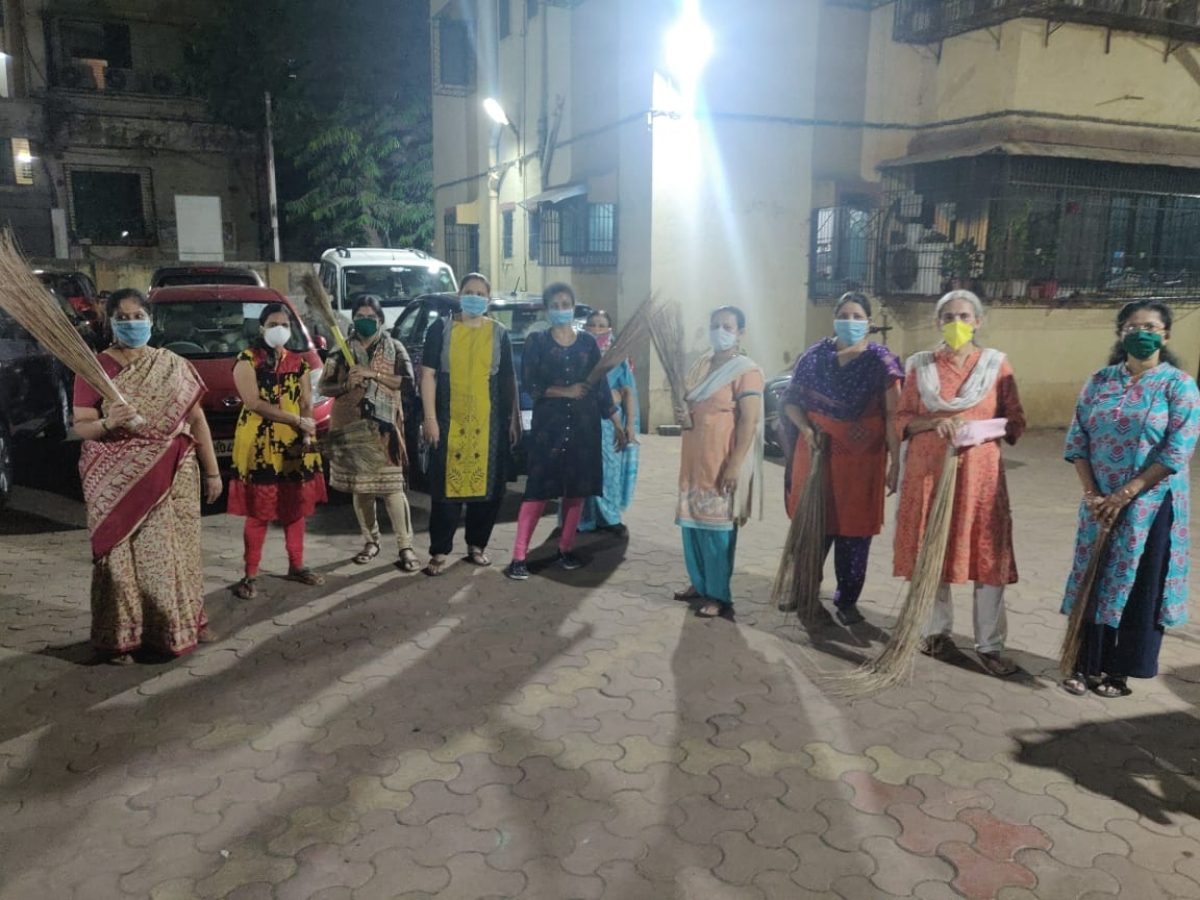 War against Coronavirus in Mumbai: From Dombivli to Borivli, housing society residents get pro-active about hygiene