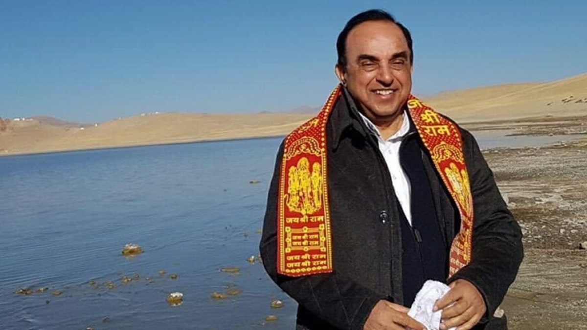 Swamy says one million Muslims being held in Chinese internment camps, dares 'Paki Paagals to comment'