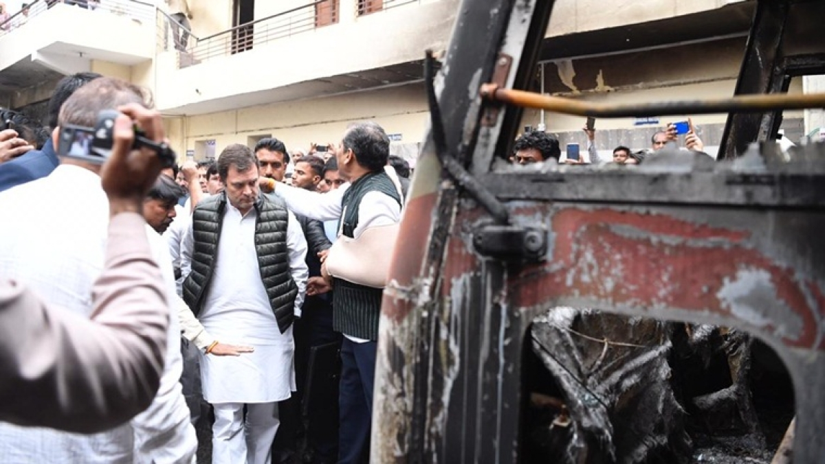 Delhi Violence Update: Rahul visits 'riot-hit areas', BJP MP demands coronavirus test
