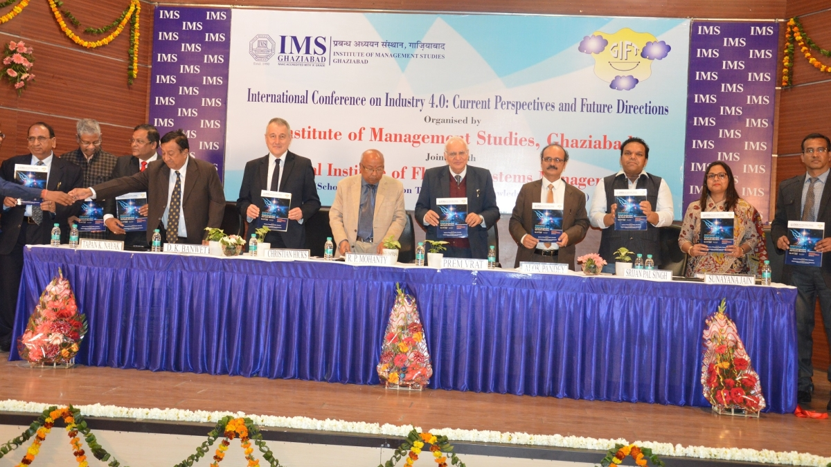 International Conference on Industry 4.0 held at IMS, Ghaziabad