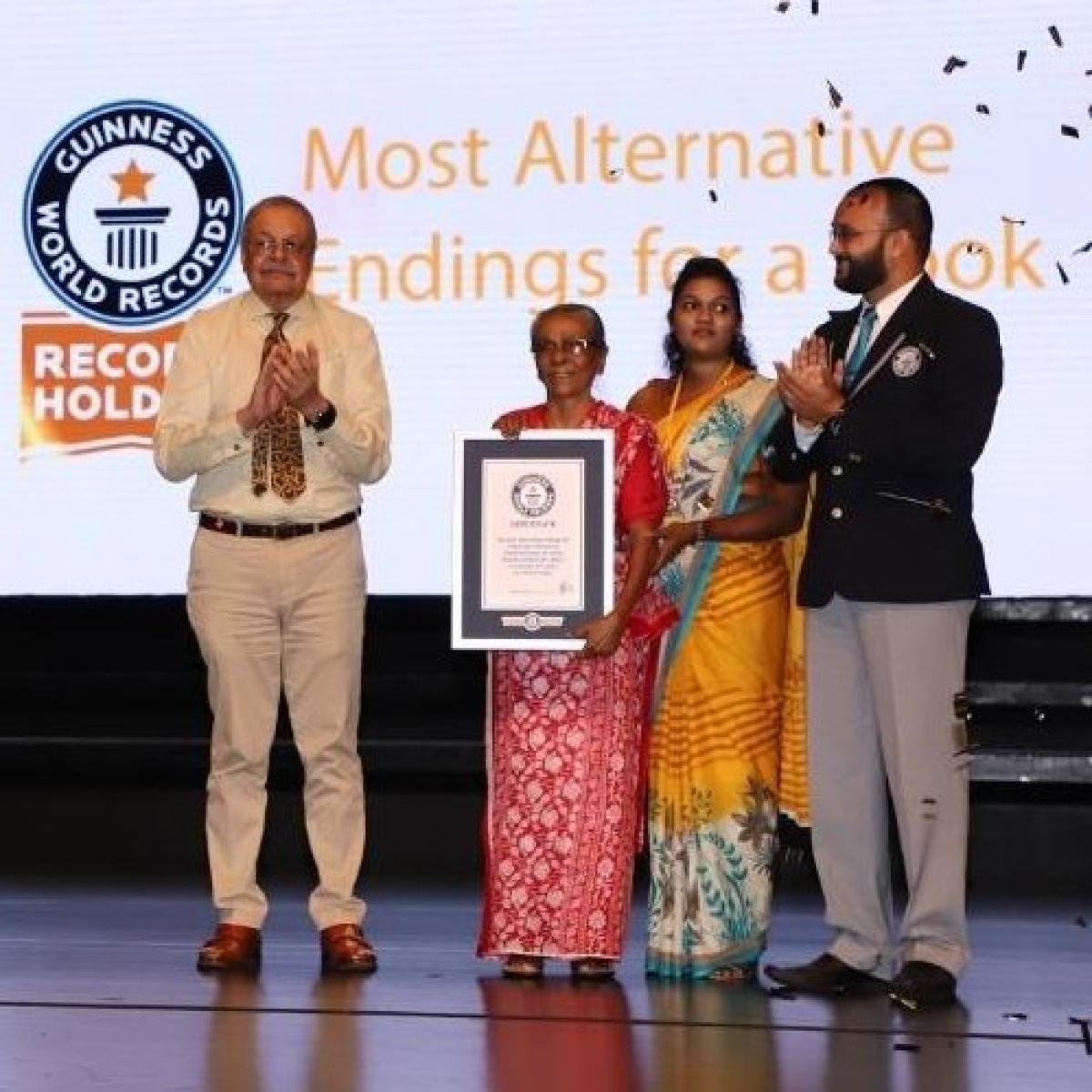 Sri Lankan book breaks Guinness World Record for most number of alternate endings