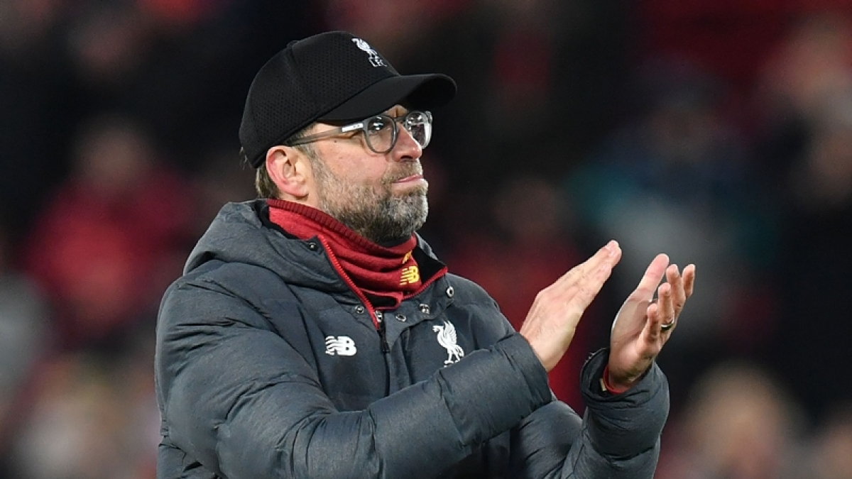 Jurgen Klopp's men could have been crowned Premier League champions today for first time in three decades