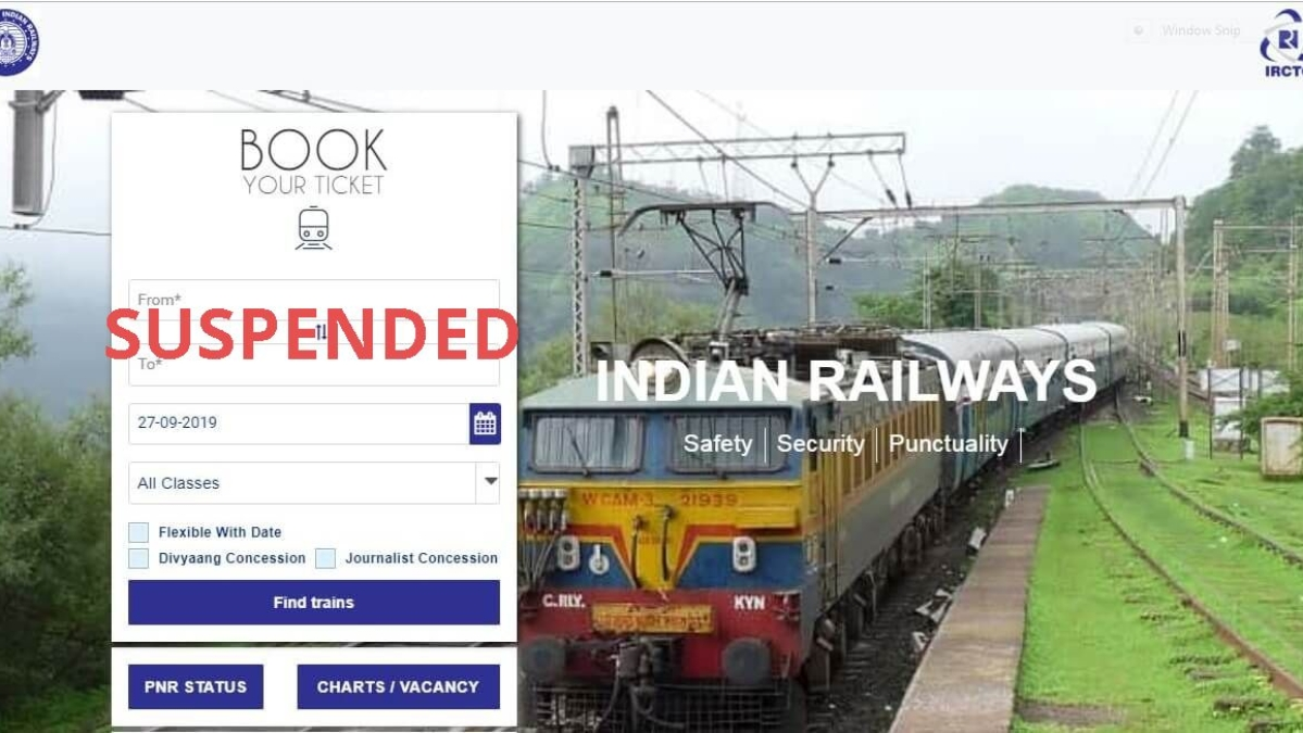 Indian Railways Booking