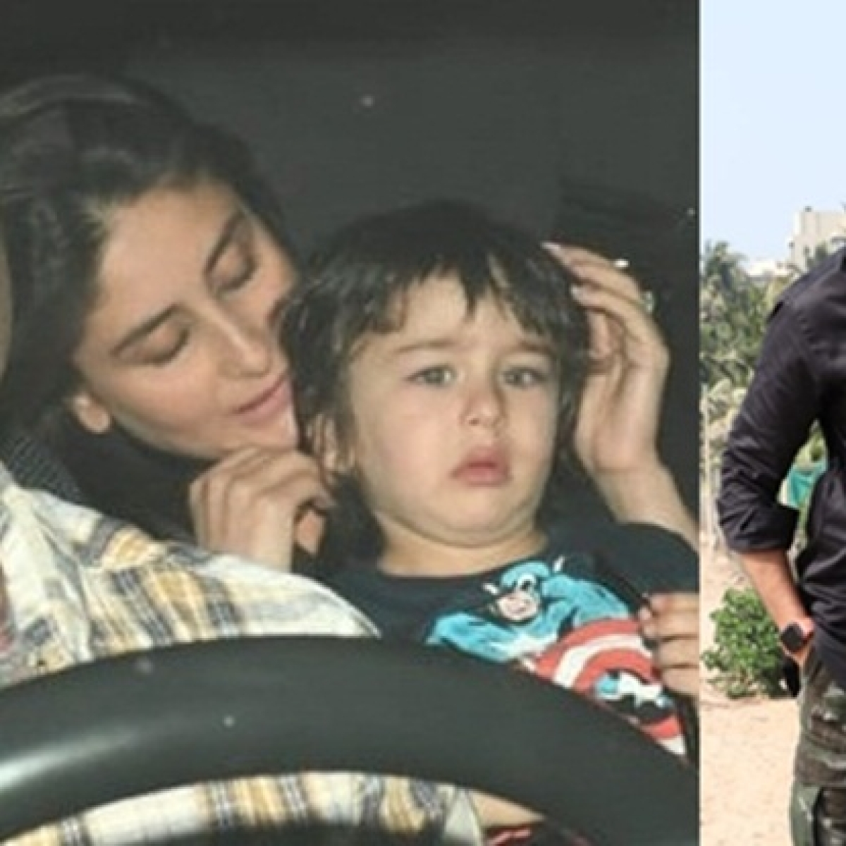 In pics: Kareena Kapoor, Taimur Ali Khan, Tiger Shroff and others spotted around Mumbai
