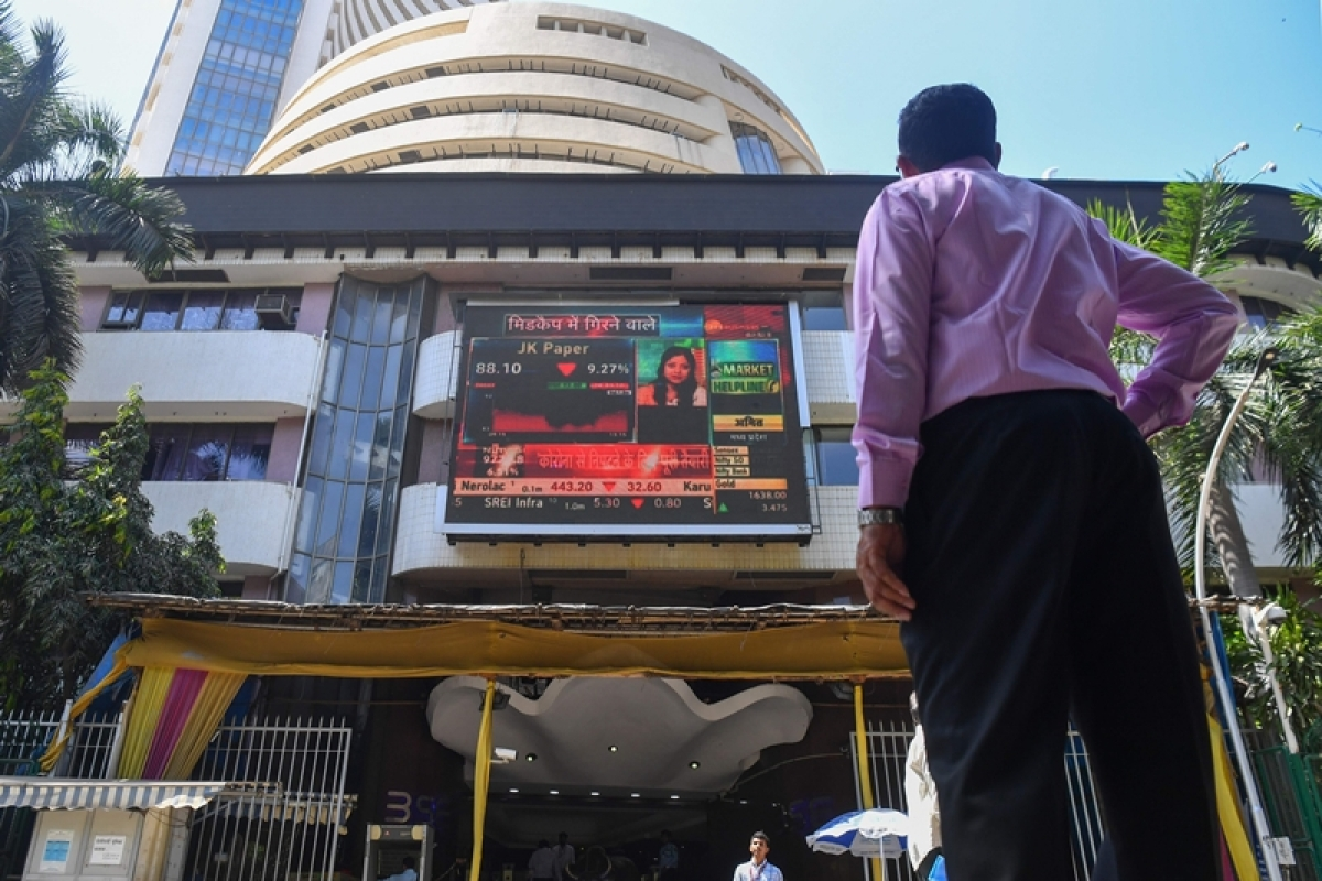 Market Update: Sensex jumps 200 points; banking stocks in the lead