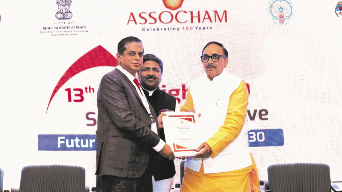 SRM bags 'Most Preferred Hotel Management Institute in India' award from Union Minister