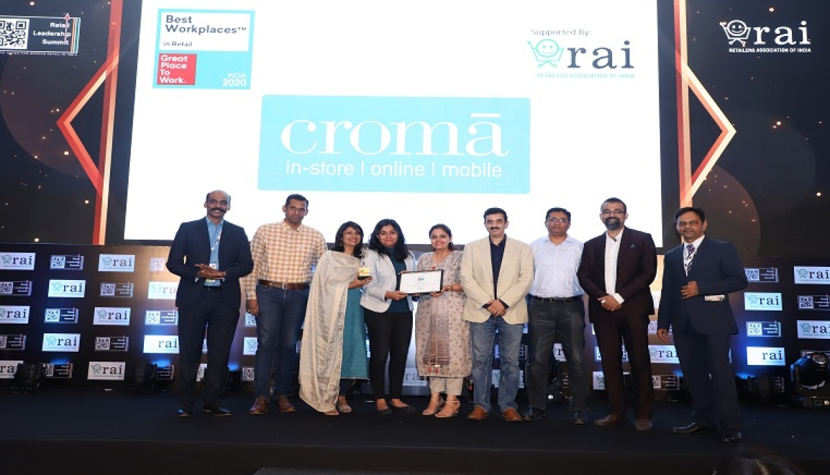 RAI - Great Place to Work® felicitates India's 10 Best Workplaces in Retail 2020!