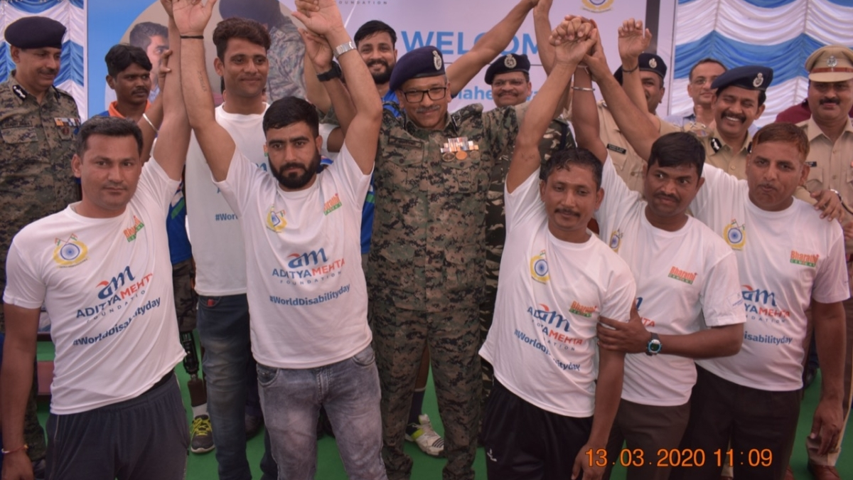 CRPF, Aditya Mehta Foundation sign MoU to enable the 'Divyang Warriors' lead a productive life
