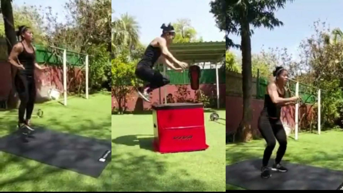 Watch: This video of Mary Kom will make you want to sweat at home during lockdown due to coronavirus