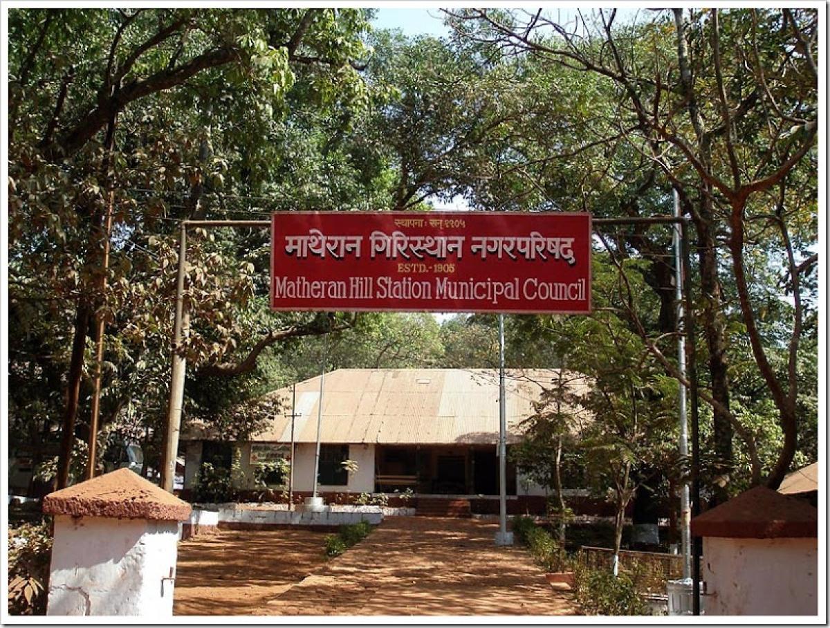 Matheran hill station municipal council